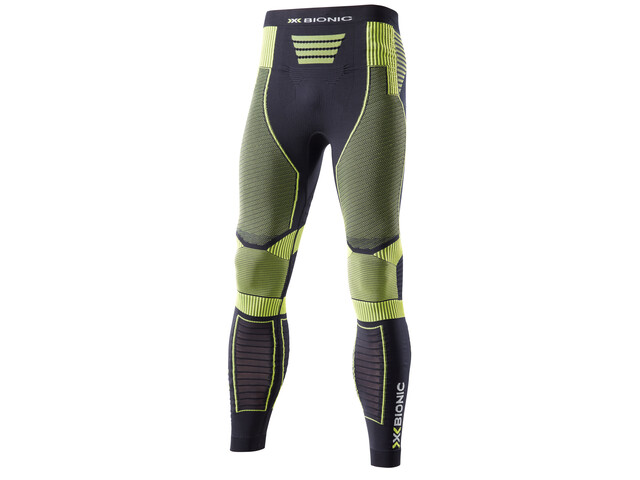 X-Bionic Effektor Power OW - Pantalones largos running Hombre - amarillo/negro